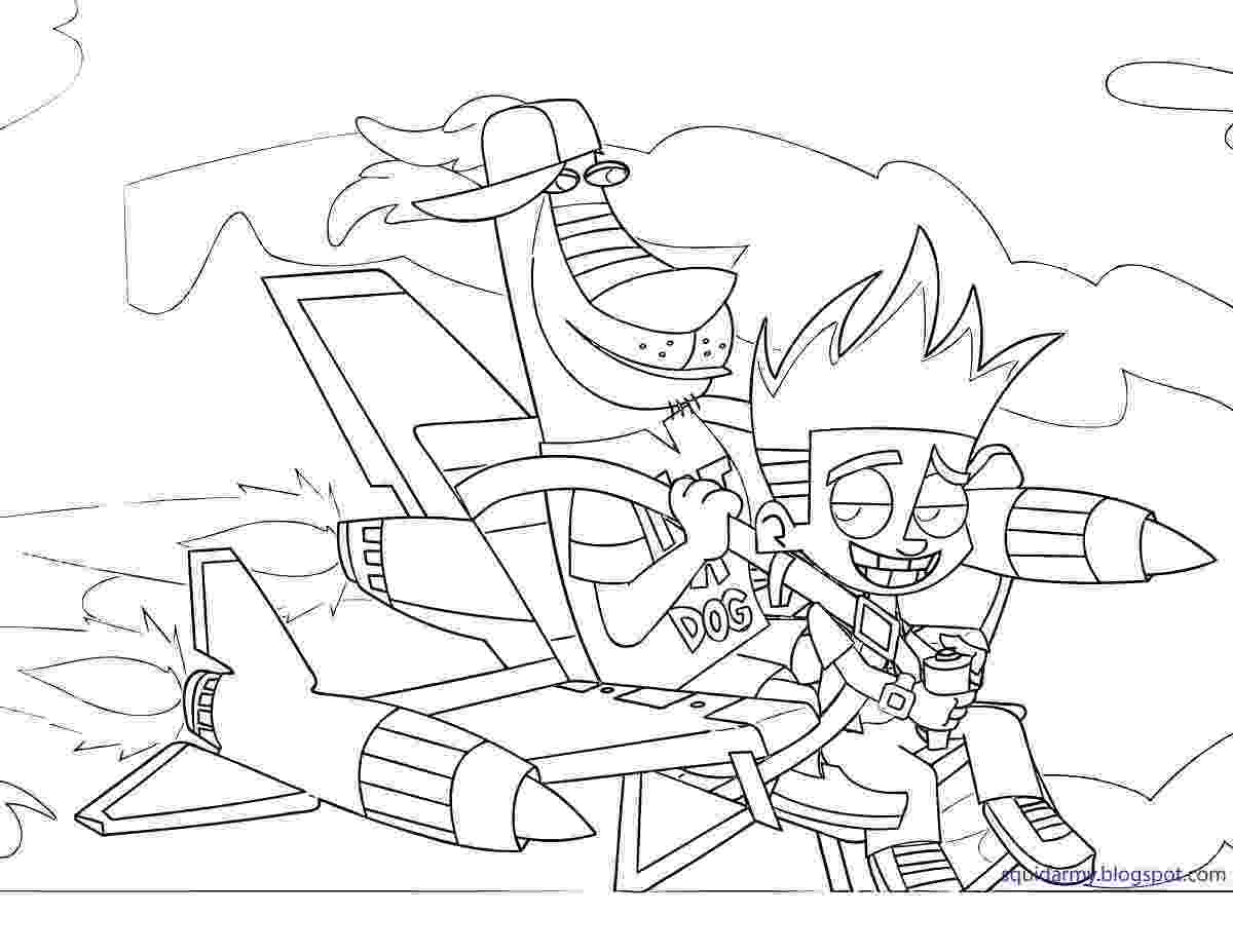 johnny test coloring pages johnny test coloring pages squid army johnny pages coloring test