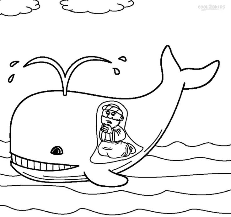 jonah and the whale coloring page 102 best images about jonah and the big fish on pinterest coloring and whale jonah the page