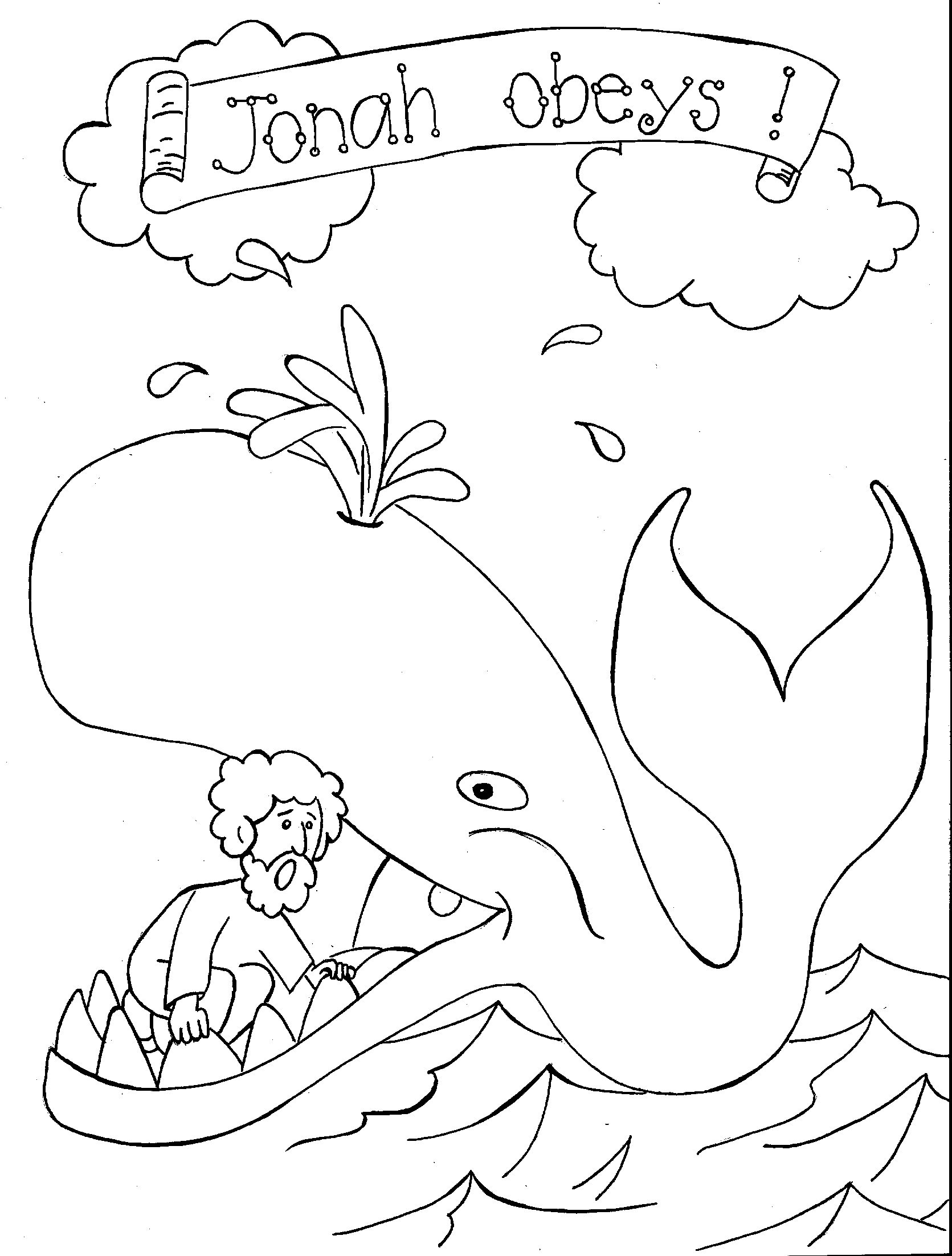 jonah and the whale coloring page jonah and the whale coloring page 3 craft ideas jonah and page the coloring whale