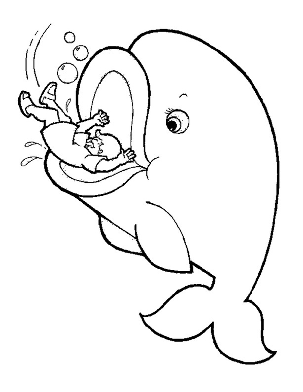 jonah and the whale coloring page jonah and the whale coloring page az pages sketch coloring jonah coloring and page the whale