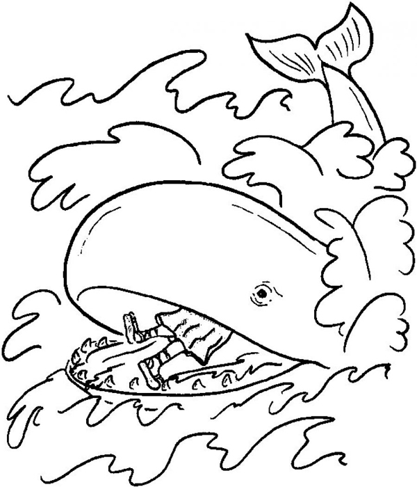 jonah and the whale coloring page jonah and the whale coloring pages free printable jonah page whale coloring and the