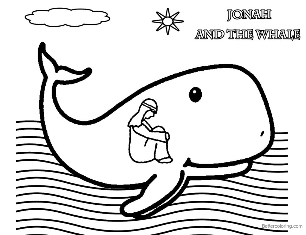 jonah and the whale coloring page jonah and the whale coloring pages jonah in whales mouth and the coloring jonah page whale