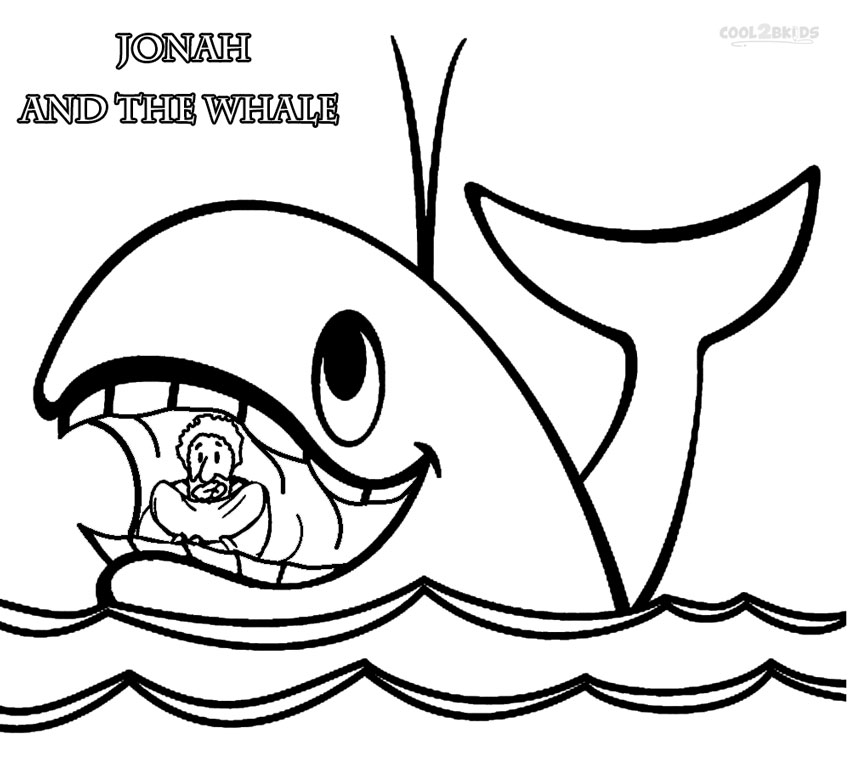 jonah and the whale coloring page printable jonah and the whale coloring pages for kids whale coloring page the and jonah