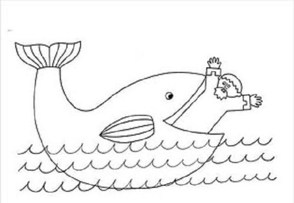 jonas dibujos para colorear imágines de jonás y la ballena para colorear recursos dibujos colorear para jonas