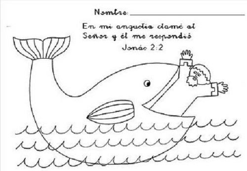 jonas dibujos para colorear imágines de jonás y la ballena para colorear recursos para dibujos colorear jonas