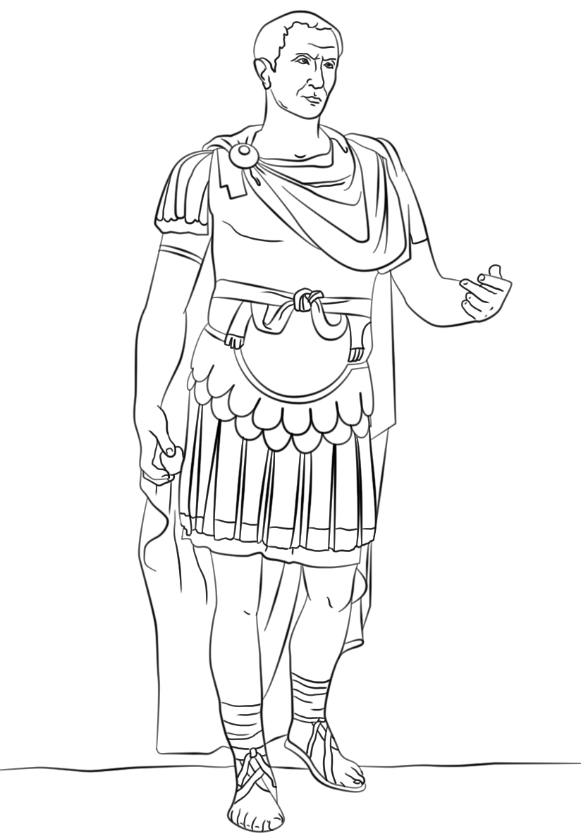 julius caesar coloring pages julius caesar coloring page coloring home julius coloring pages caesar