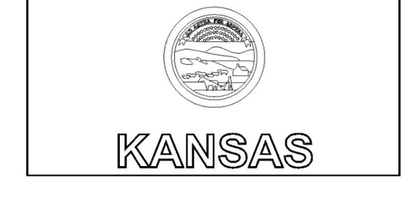 kansas flag coloring page 1000 images about kansas on pinterest covered wagon coloring flag page kansas