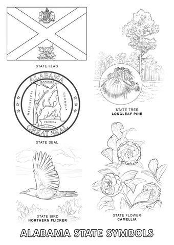 kansas state symbols coloring pages kansas state symbols coloring page free printable pages symbols state kansas coloring