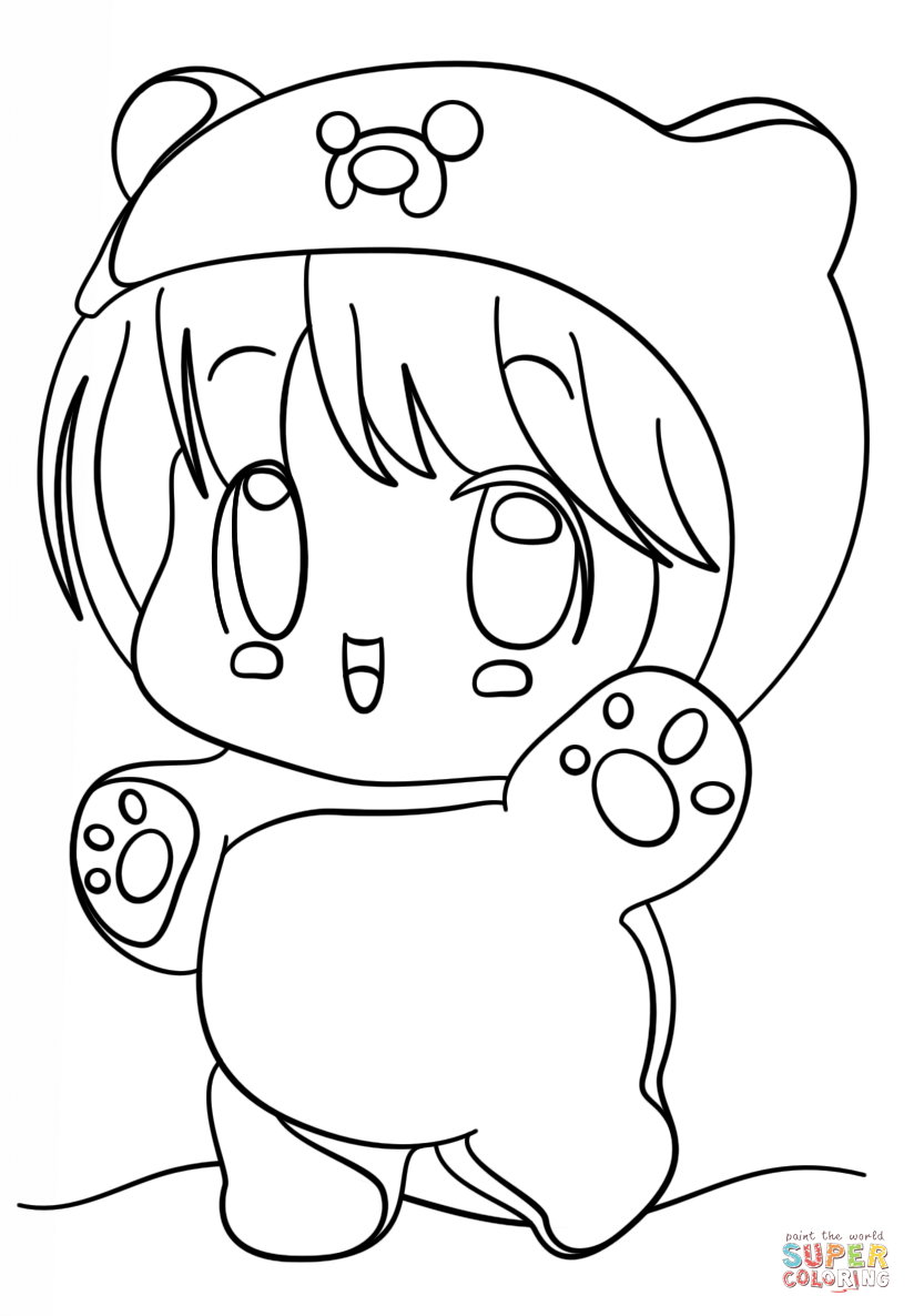 kawaii girls coloring pages anime coloring pages best coloring pages for kids pages coloring girls kawaii