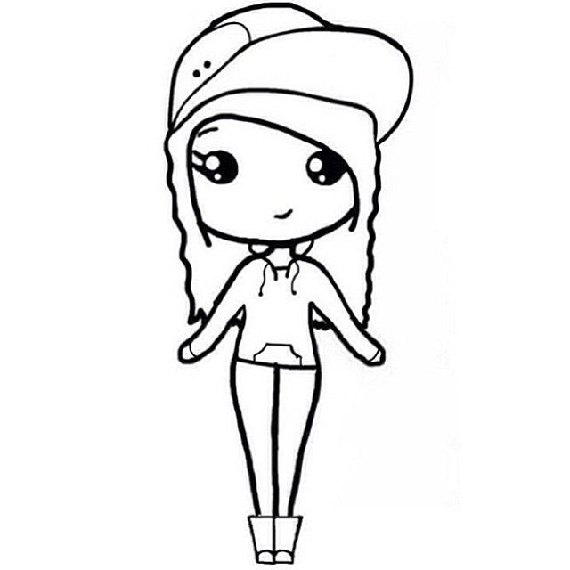 kawaii girls coloring pages kawaii coloring pages bestofcoloringcom kawaii pages coloring girls