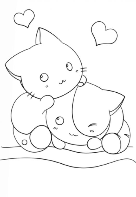 kawaii girls coloring pages kawaii coloring pages to download and print for free coloring kawaii pages girls