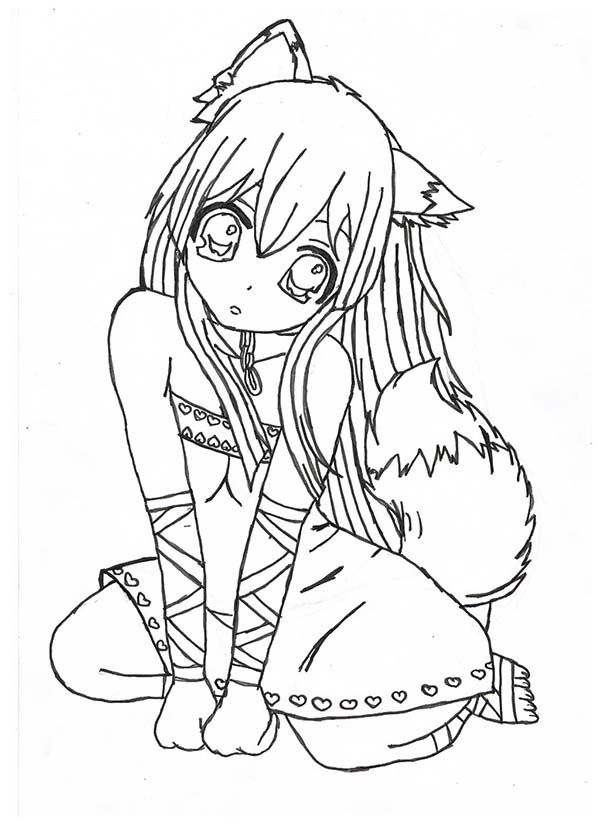 kawaii girls coloring pages pin on coloring kawaii pages girls coloring