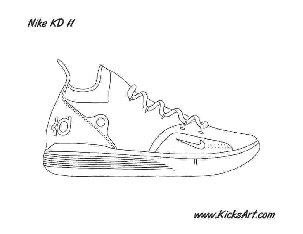 kd coloring pages kd 8 shoes coloring pages kd coloring pages