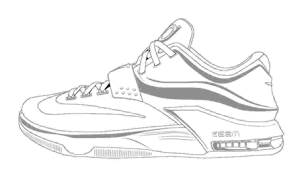 kd coloring pages kd shoes colouring pages sketch coloring page coloring pages kd
