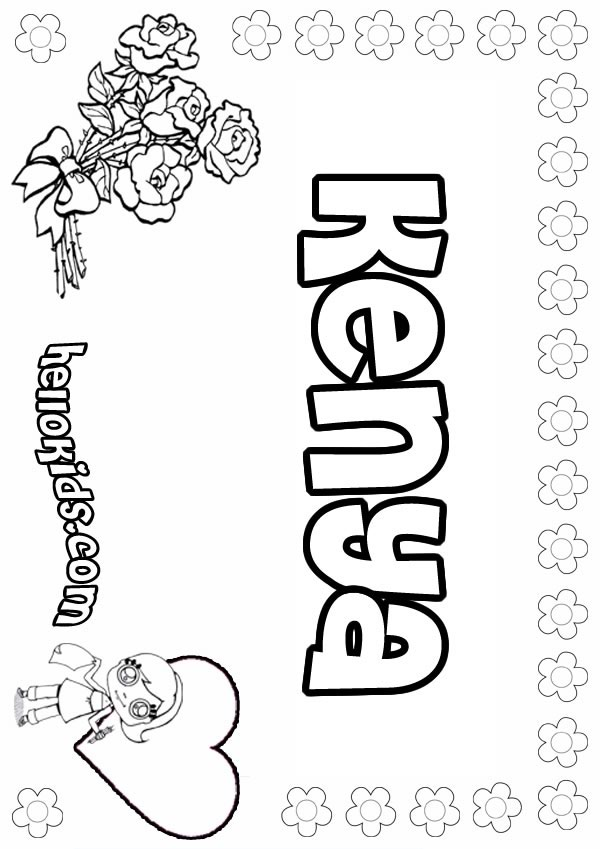 kenya coloring pages color land 4 pages pages kenya coloring