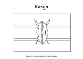 kenya coloring pages kenya flag coloring page coloring home kenya coloring pages