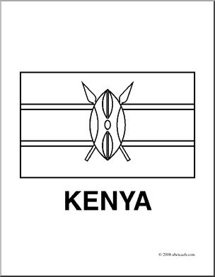 kenya coloring pages kenya flag coloring page free printable coloring pages kenya coloring pages
