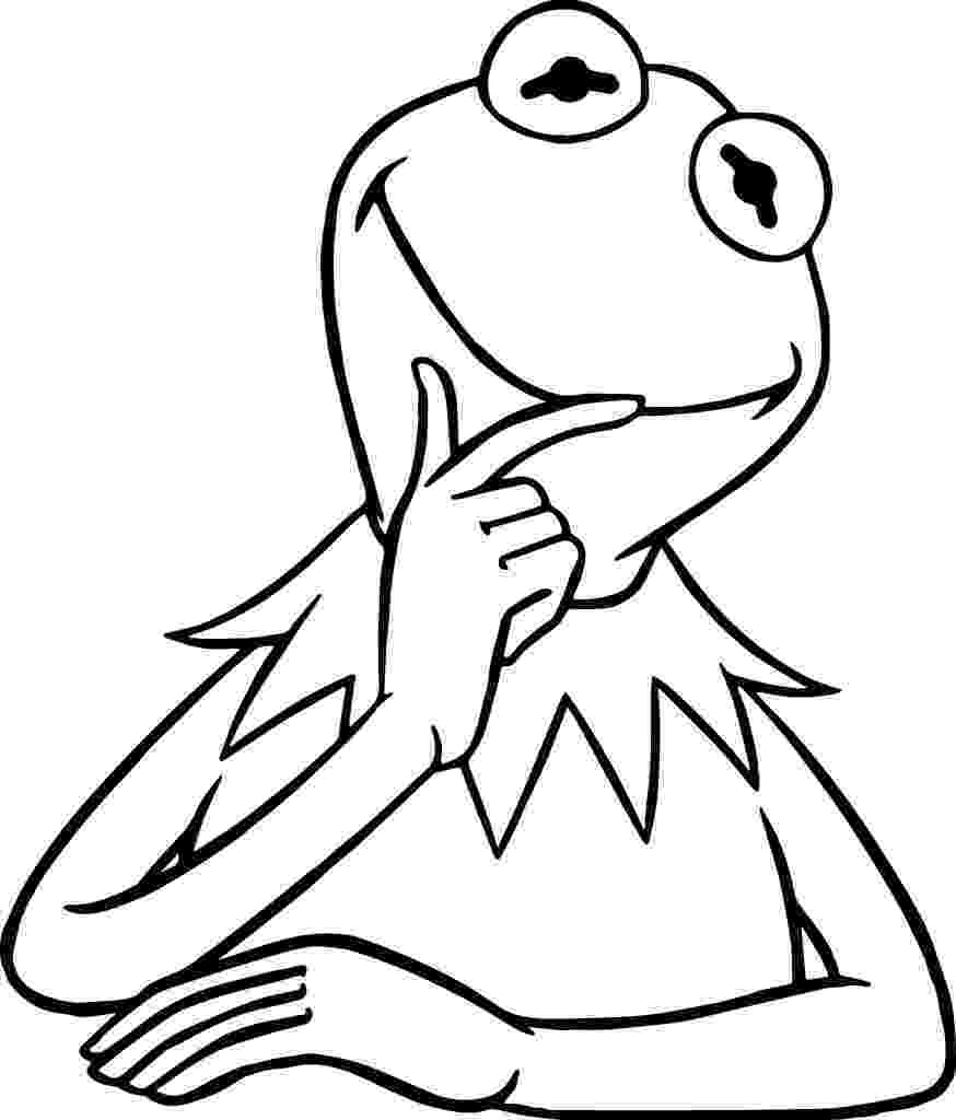 kermit the frog coloring pages kermit the frog coloring pages coloring pages pages frog kermit the coloring