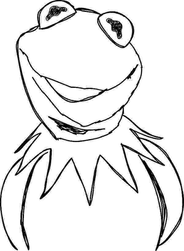 kermit the frog coloring pages kermit the frog from the muppets show coloring pages frog the pages coloring kermit