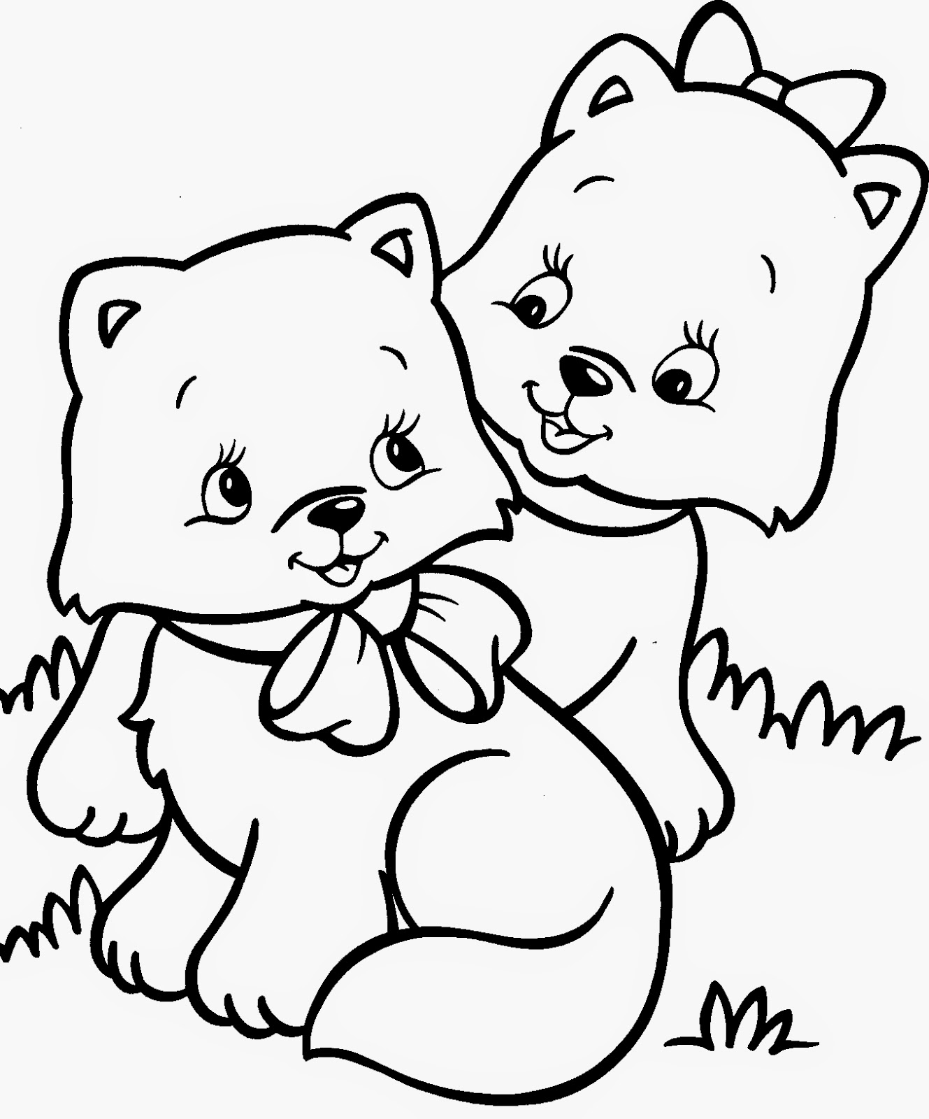 kitten color page kitten coloring pages best coloring pages for kids page color kitten