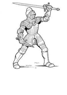 knight coloring page knight drawing for kids at getdrawingscom free for page knight coloring
