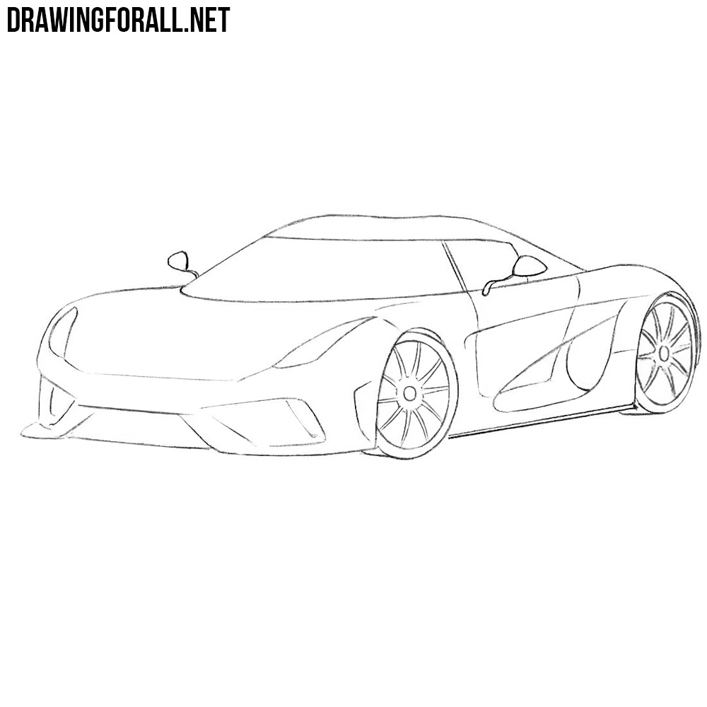 koenigsegg coloring pages how to draw a koenigsegg regera drawingforallnet coloring pages koenigsegg
