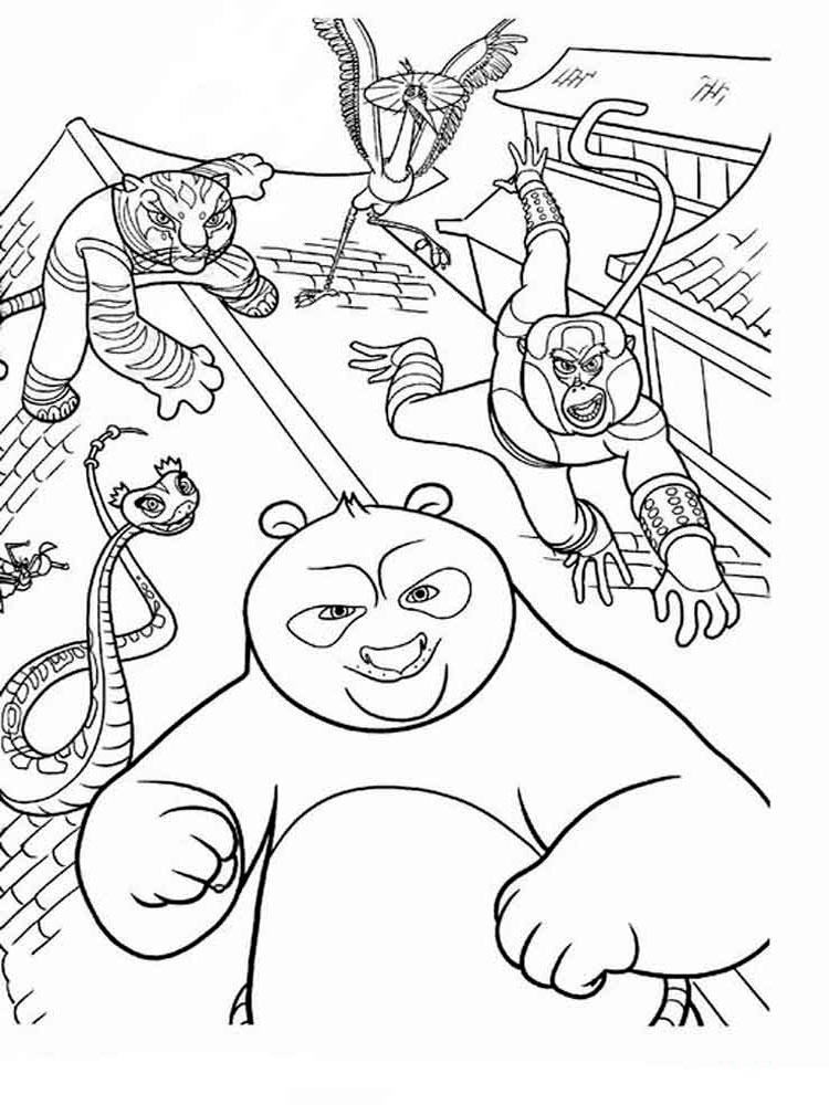kung fu panda colouring pages free printable kung fu panda coloring pages kung colouring panda pages fu