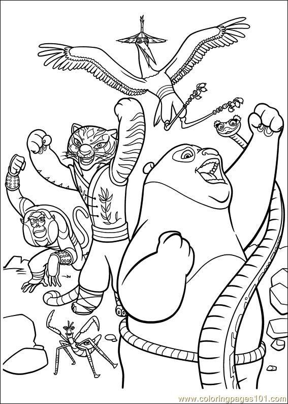 kung fu panda colouring pages kung fu panda coloring pages team colors kung colouring fu pages panda