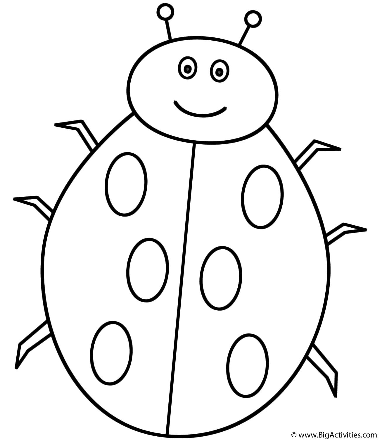 l is for ladybug letter l coloring page alphabet ladybug for l is