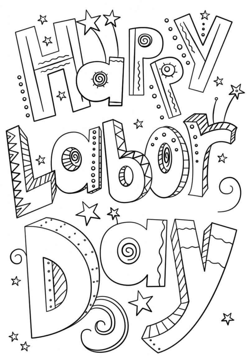 labor day coloring page coloring pages page labor coloring day
