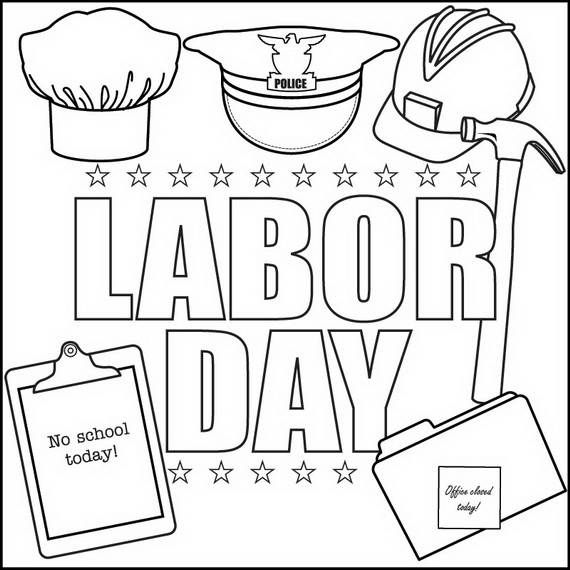 labor day coloring page happy labor day holiday worksheets coloring pages for day coloring labor page