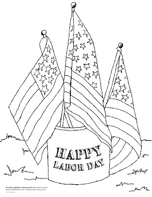 labor day coloring page labor day coloring pages free printable labor day coloring page day labor