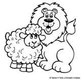 lamb coloring page free sheep coloring pages books for education lamb coloring page