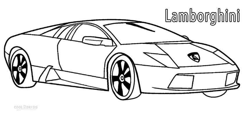 lambo coloring pages printable lamborghini coloring pages for kids cool2bkids coloring lambo pages