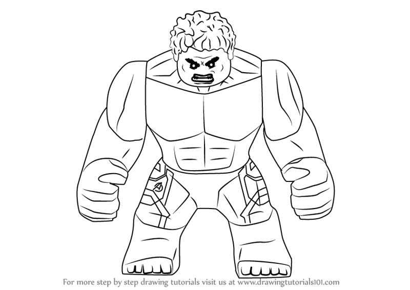 lego hulk hulk drawing at getdrawingscom free for personal use lego hulk 1 1