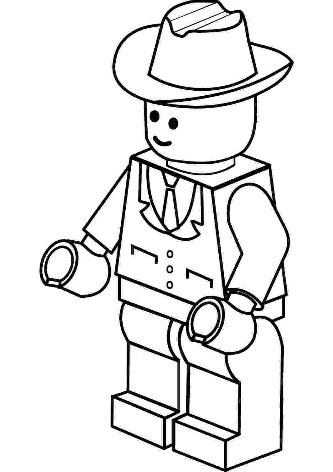 lego pages to color more complex lego figure colouring sheet lego coloring pages color to lego