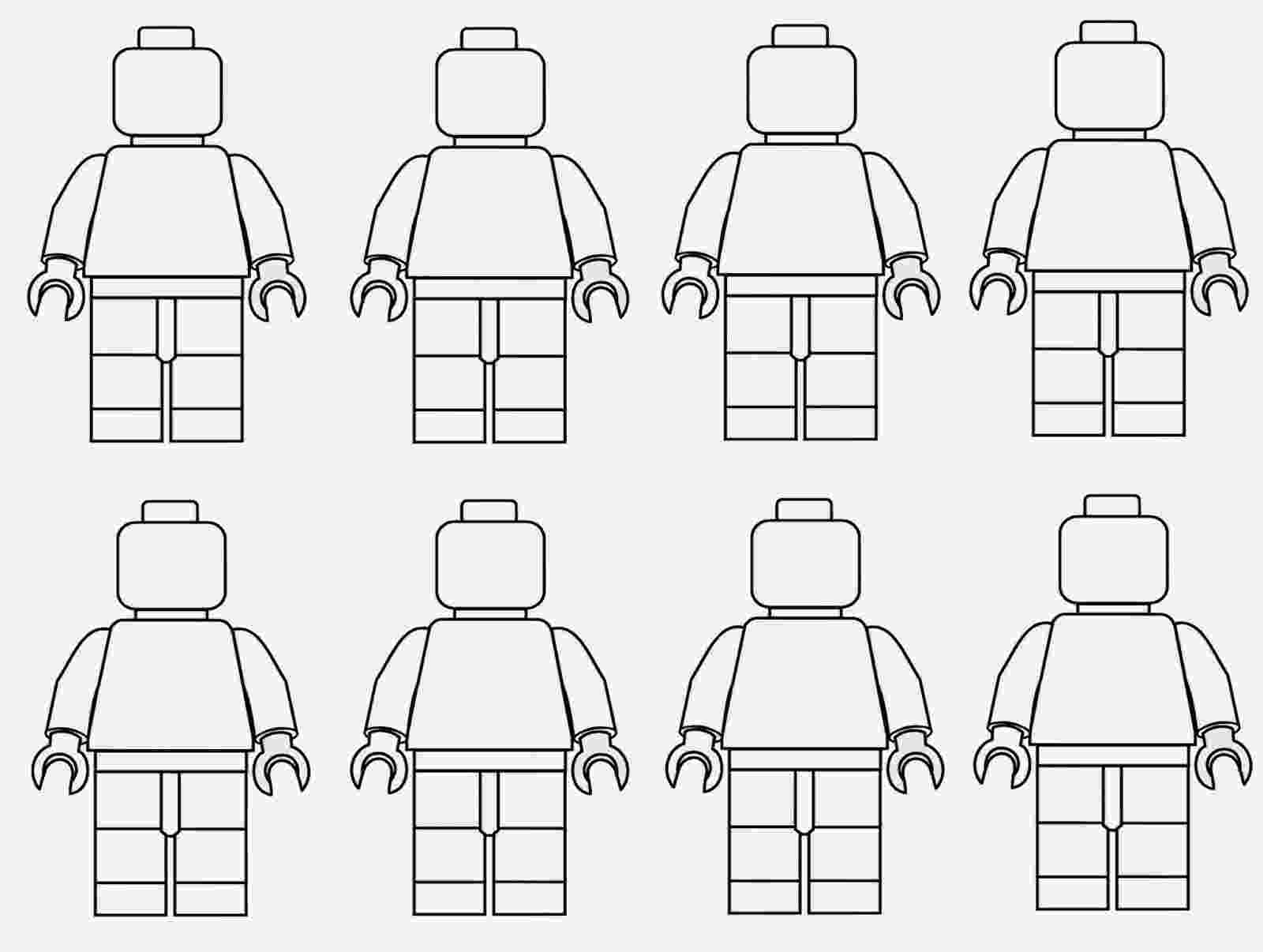 lego pages to color spring time treats lego men coloring page lego to color pages