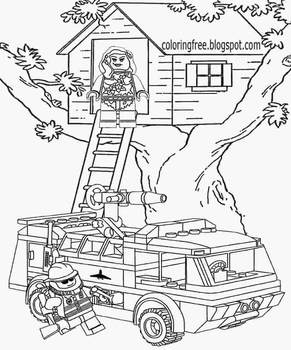 lego truck coloring pages high quality lego fire truck coloring page to print for free truck lego pages coloring