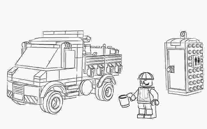 lego truck coloring pages lego excavator truck coloring page wecoloringpagecom coloring truck lego pages