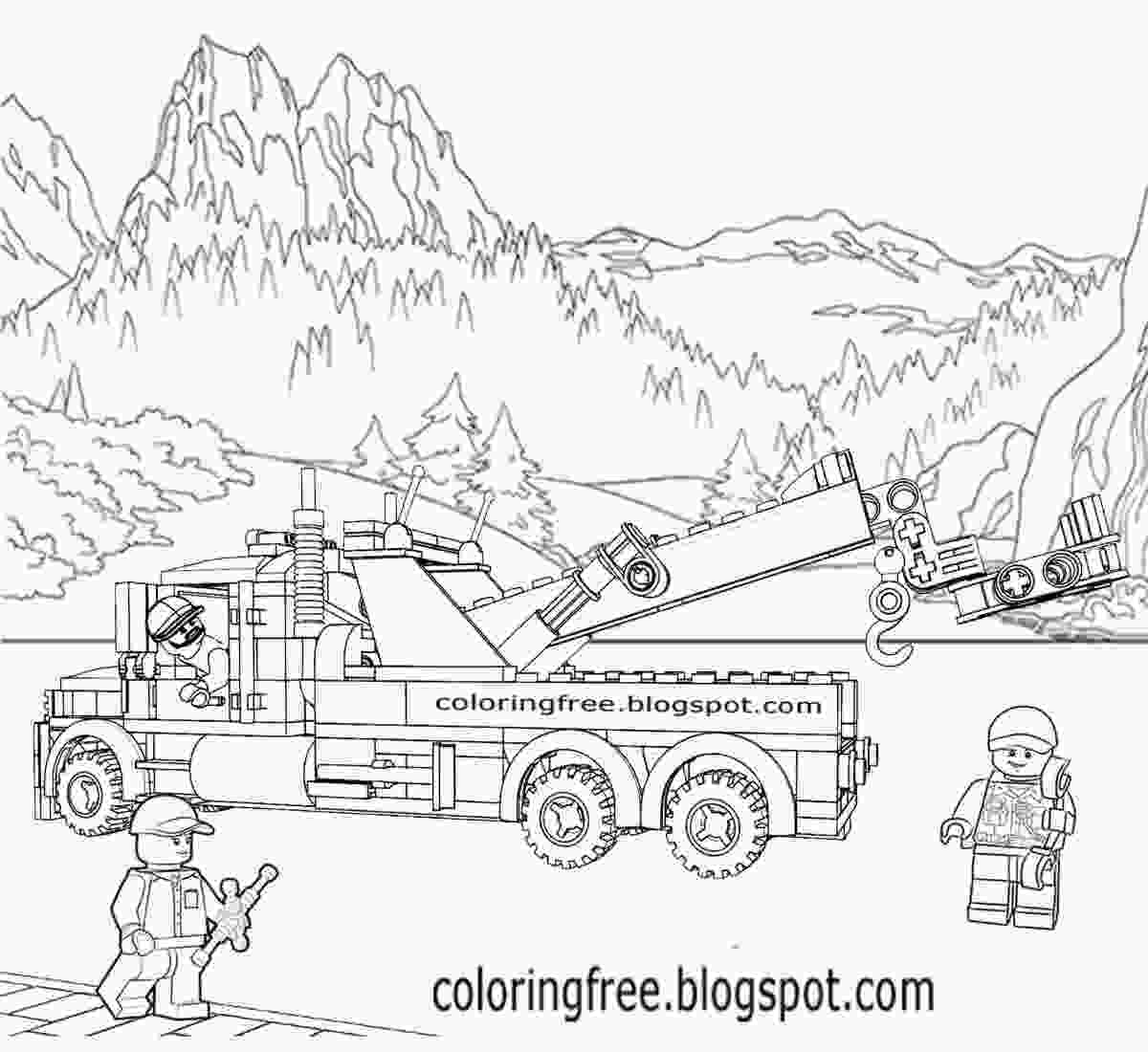 lego truck coloring pages printable lego city coloring pages for kids clipart truck lego coloring pages