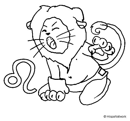 leo coloring pages leo coloring page zodiac sign birtday month july august pages leo coloring