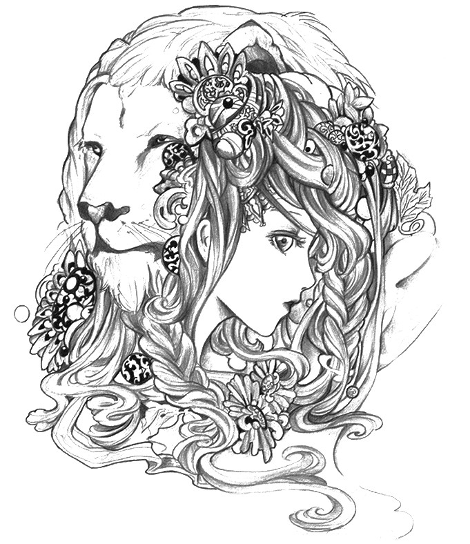 leo coloring pages leo zodiac sign coloring page free printable coloring pages leo coloring pages