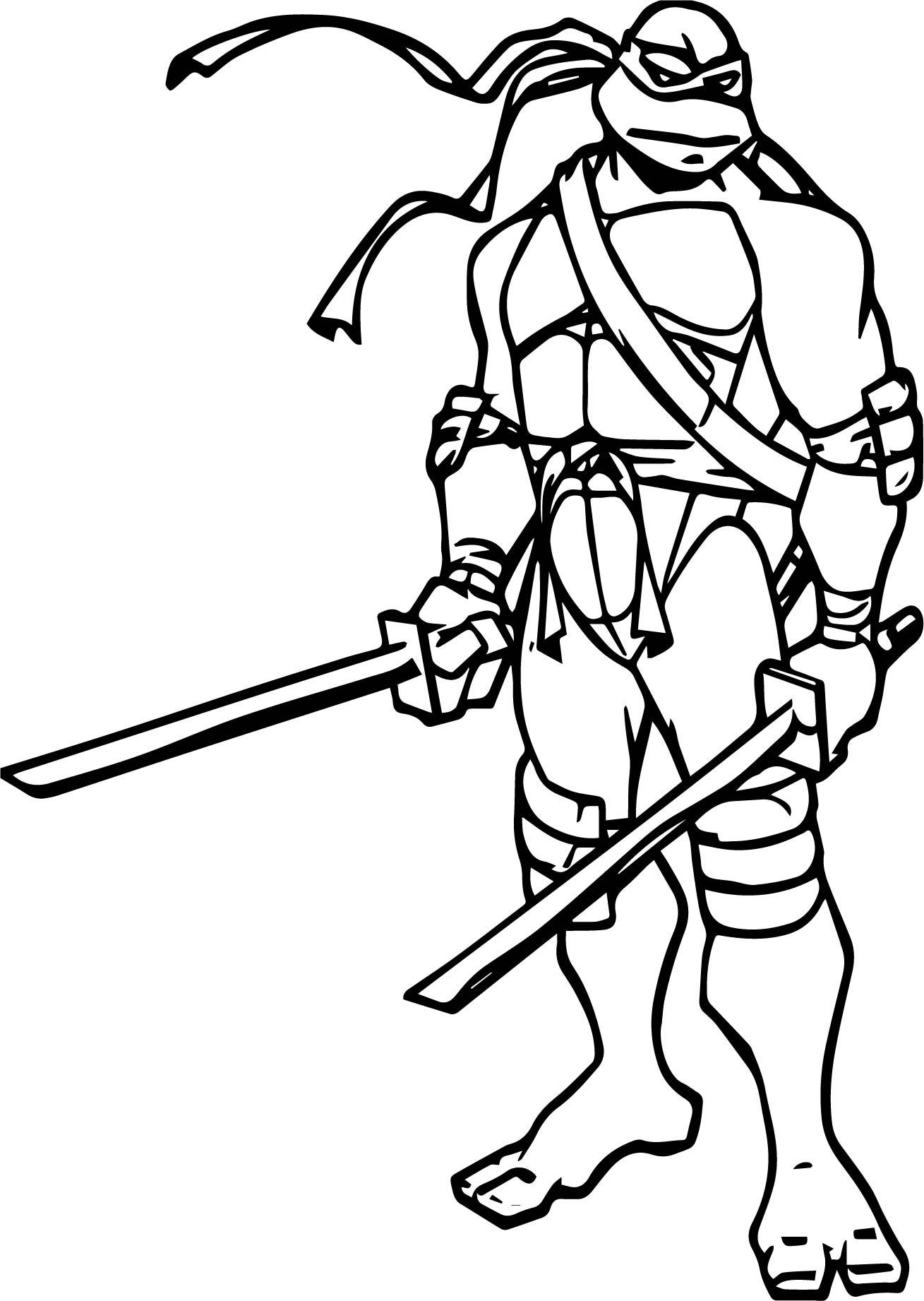leonardo coloring pages free leonardo ninja turtles coloring page superheroes pages leonardo coloring