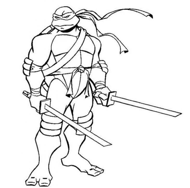 leonardo coloring pages leonardo with swords coloring page free teenage mutant coloring pages leonardo