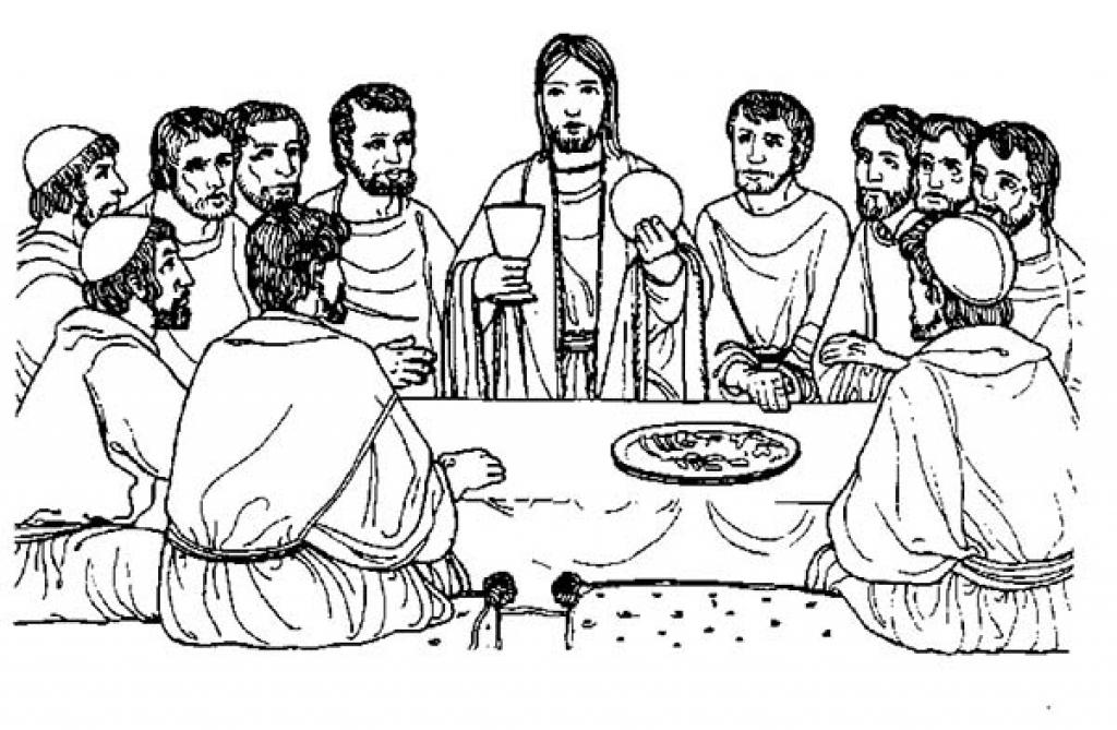 leonardo da vinci the last supper coloring page last supper coloring pages free at getcoloringscom free the page da coloring vinci leonardo last supper