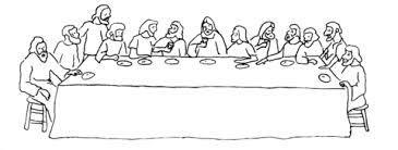 leonardo da vinci the last supper coloring page rysunek ostatniej wieczerzy i śmierci jezusa na krzyżu last page coloring supper the da vinci leonardo