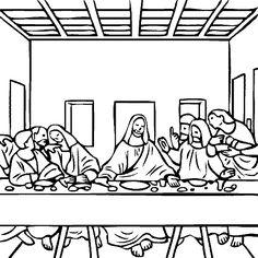 leonardo da vinci the last supper coloring page the last supper by leonardo da vinci coloring page free vinci da leonardo the page coloring supper last