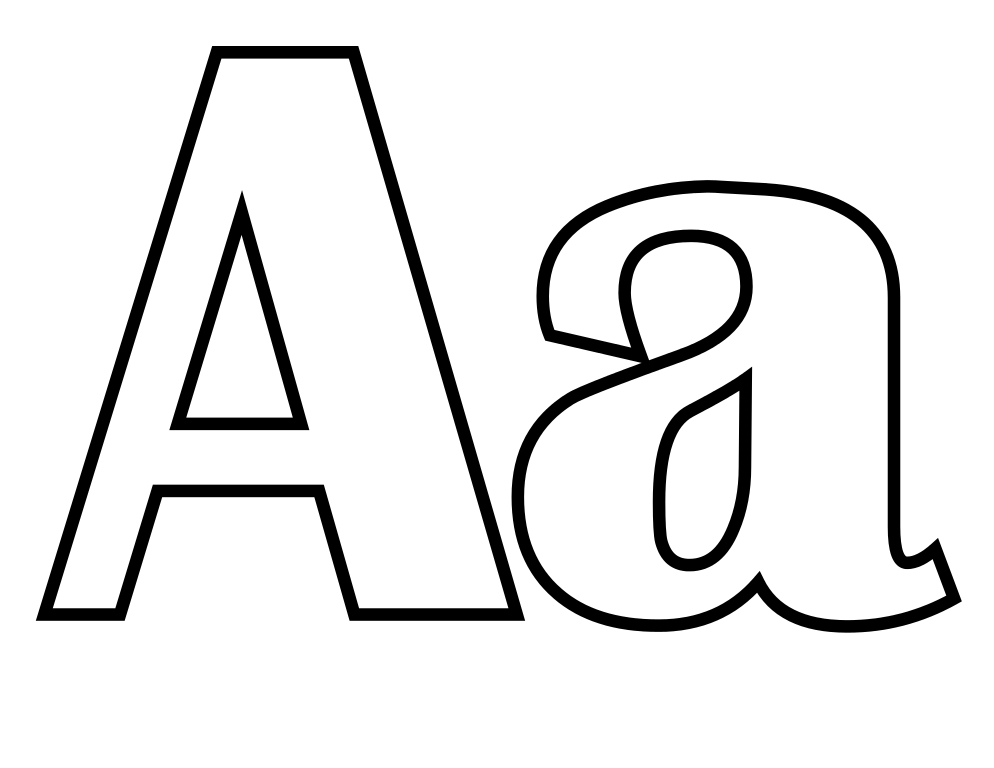 letter a coloring page a z alphabet coloring pages download and print for free page a letter coloring