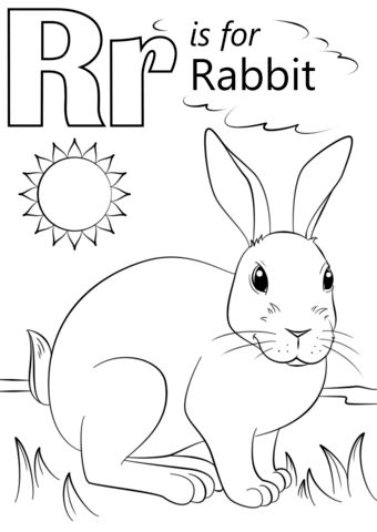 letter r coloring pages preschool r coloring pages preschool at getdrawingscom free for r coloring preschool letter pages