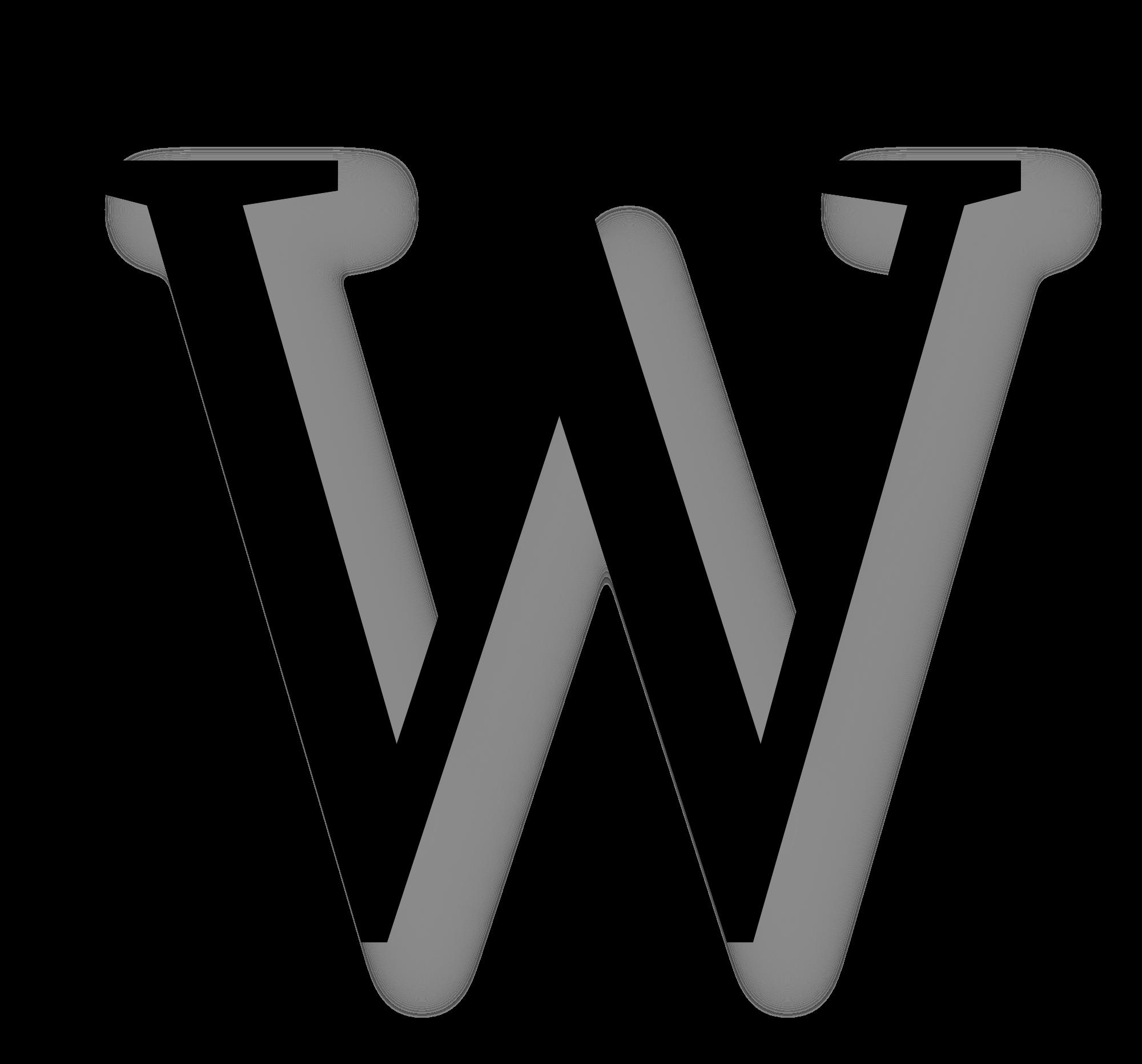 letter w black alphabet letters alphabet printables org w letter